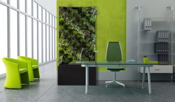 Garden and work of art at the same time: SmartWall